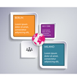 Infographic Abstract Template vector image