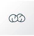 chickpeas icon line symbol premium quality vector image