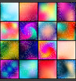 colorful various abstract vector image vector image