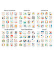 complex concept icons modern vector image vector image