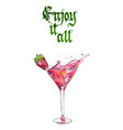 enjoy it all vector image vector image
