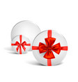 holiday white box-09 vector image vector image