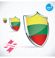 I Love Lithuania Flag vector image vector image