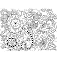 Mandala coloring for adults vector image vector image