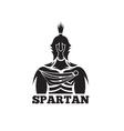 Old Vintage Antiques Spartan warrior design vector image vector image