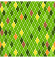 Seamless pattern of small rhombuses vector image vector image