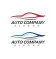 speed auto car logo template icon