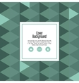 tiangle icon Cover background graphic vector image