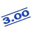 300 Watermark Stamp vector image