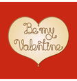 be my valentine1 vector image vector image