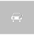 Car lock computer symbol vector image