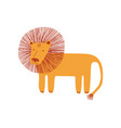 cute lion design element can be used for t-shirt vector image
