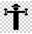 gentleman fitness icon vector image vector image