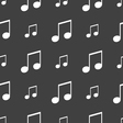 Musical note music ringtone icon sign Seamless