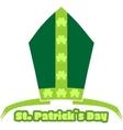 St Patricks Day greeting vector image vector image