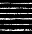 stripes pattern white on black vector image