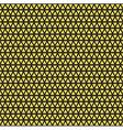 Seamless geometric gold pattern vector image