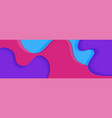 abstract background banner design vector image