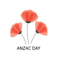 anzac day poster lest we forget paper cut vector image vector image