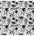 baseball seamless pattern vector image vector image