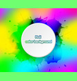 holi color background for festival of india vector image