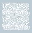 lacy vintage trim vector image vector image