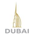 Dubai vector image