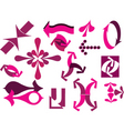 decorative arrow vector image