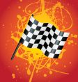 flag splat vector image vector image