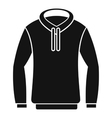 Hoody icon simple style vector image vector image