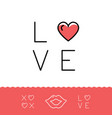 love text lips icon xoxo - hugs and kisses vector image vector image