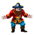 pirate the jolly sailor vector image vector image