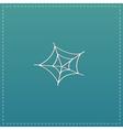 Spiderweb icon Web symbol vector image
