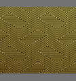 abstract geometric gold pattern background vector image