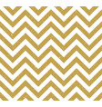gold grunge chevron pattern background vector image