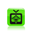 realitytv icon vector image vector image