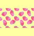 seamless pattern strawberrys virtual vector image