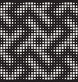 stylish halftone texture endless abstract vector image vector image