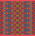 tribal abstract geometric ethnic seamless pattern vector image vector image