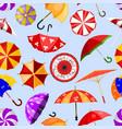 umbrella umbrella-shaped rainy protection vector image vector image