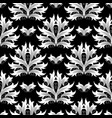 damask seamless pattern baroque background vector image