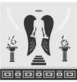 Avenging Angel vector image
