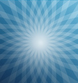 Blue Star Shaped Background Abstract Winter Design vector image