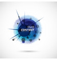 abstract background with color circle vector image