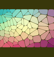 abstract composition with voronoi geometric shapes vector image vector image