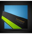 Abstract corporate bright background vector image