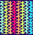 colorful wavy lines pattern-15 vector image vector image