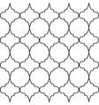 geometric black and white ornamental openwork vector image