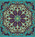 seamless rich baroque ornament vector image