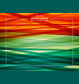 abstract background of summer colorful stripe line vector image vector image
